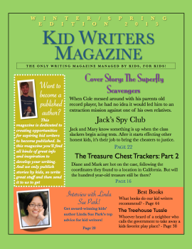Post image for Kid Writers Magazine Edition #2 Is Out!